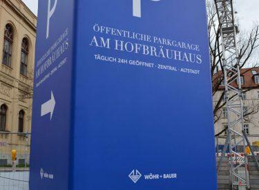 München Zentrum 2020 – Werbetower als Leitsystem